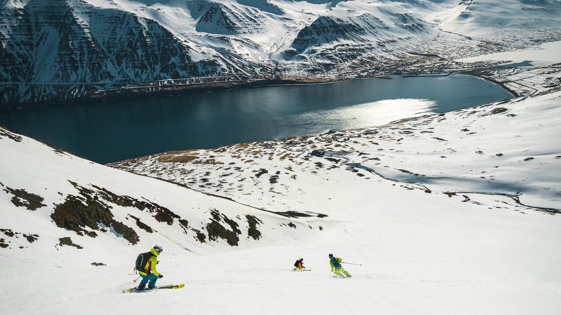 Skitouren Und Firn Abfahrt Auf Island Mit Der Alpinschule